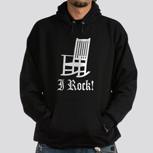 Funny I Rock - Rocking Chair Hoodie