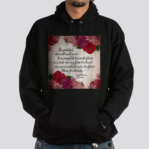 Bloom for Eternity Hoodie (dark)