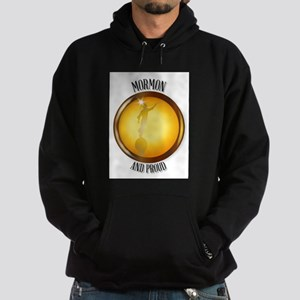 Mormon And Proud Button Hoodie (dark)