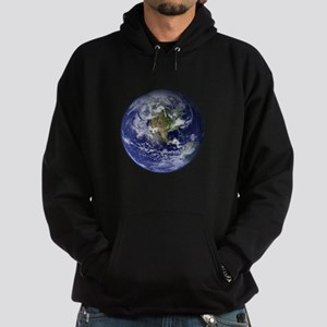 Western Earth from Space Hoodie (dark)