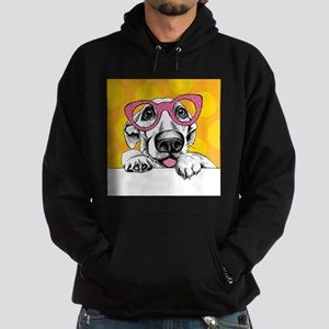 Hipster Dog Hoodie