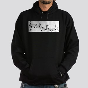Music Notes Hoodie (dark)
