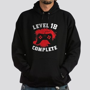 Level 18 Complete 18th Birthday Hoodie