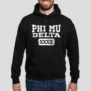 Phi Mu Delta Athletic Hoodie (dark)