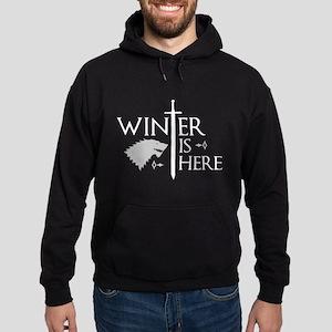 Winter Is Here Hoodie (dark)