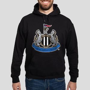 Vintage Newcastle United FC Crest Hoodie (dark)