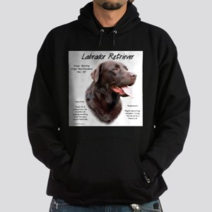 Chocolate Lab Hoodie (dark)