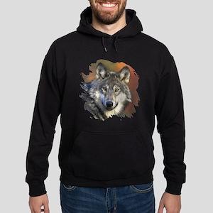 Gray Wolf Hoodie (dark)
