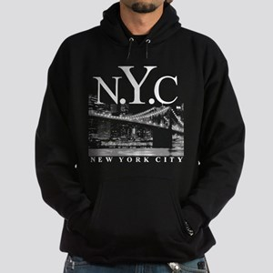 NYC New York City Skyline Hoodie (dark)