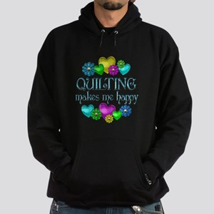 Quilting Happiness Hoodie (dark)