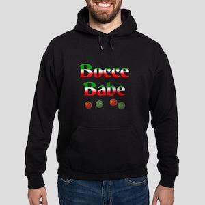 Bocce Babe Hoodie (dark)