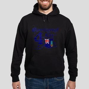 Montserrat for life designs Hoodie (dark)