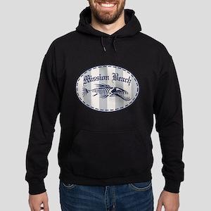 Mission Beach Bonefish Hoodie (dark)
