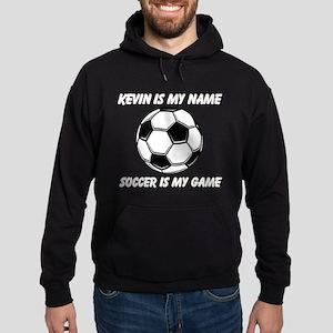Soccer Is My Game Hoodie (dark)