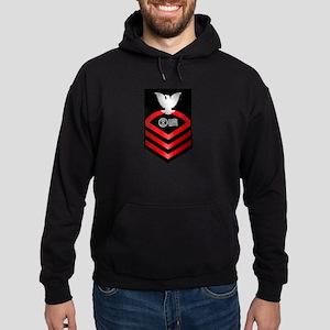 navy_e7_postal_clo Hoodie