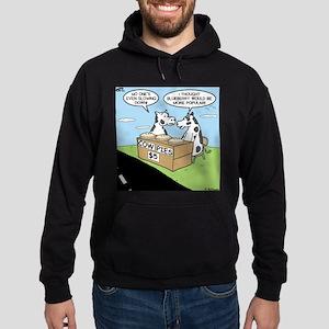 Cow Pies Hoodie (dark)