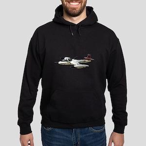 A-37 Dragonfly Aircraft Hoodie (dark)