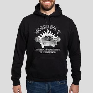 Winchester Bros inc logo B Hoodie