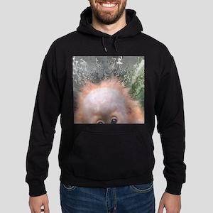 Explosive Animal - Orangutan baby Hoodie (dark)