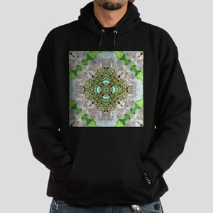 green diamond bling Hoodie (dark)