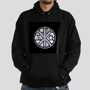 Alpha Omega Glass Window Hoodie (dark)