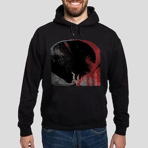 Punisher Skull Bloody Hoodie (dark)