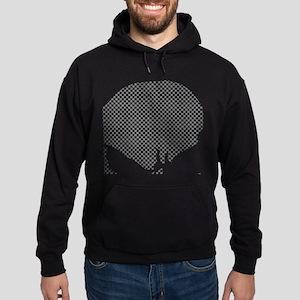 Punisher Skull Grid Hoodie (dark)