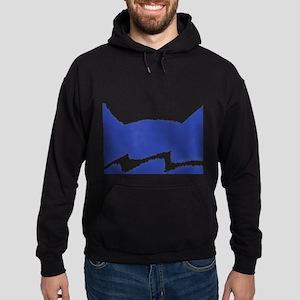 Riverclan BLUE Hoodie (dark)