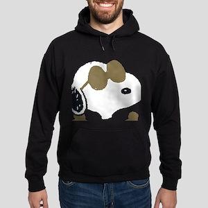 Peanuts Bad to the Bone Hoodie (dark)