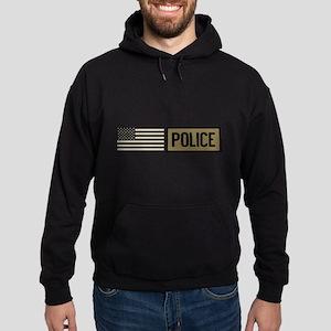 Police: Tactical Flag Hoodie (dark)