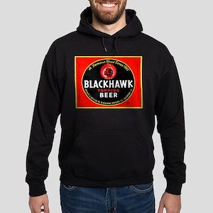 Iowa Beer Label 1 Hoodie (dark)