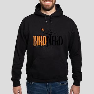 Bird Nerd (Black and Orange) Sweatshirt