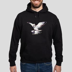 Pigeon Love Hoodie (dark)
