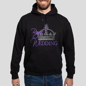 Royal Wedding London England Hoodie (dark)