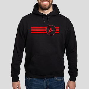 Fencer Stripes (Red) Hoodie