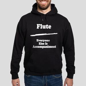 FluteAccomp1White Sweatshirt