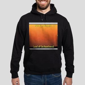 New Mexico License Plate Hoodie (dark)