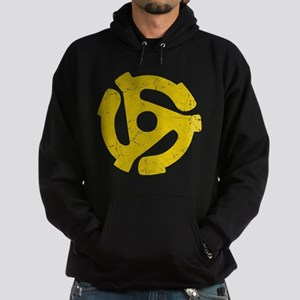 45 rpm record adapter. Hoodie