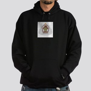 Traditional Fire Department Chief He Hoodie (dark)