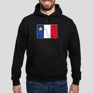 Flag of Acadia Hoodie (dark)
