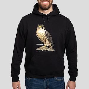 Peregrine Falcon Bird Hoodie (dark)