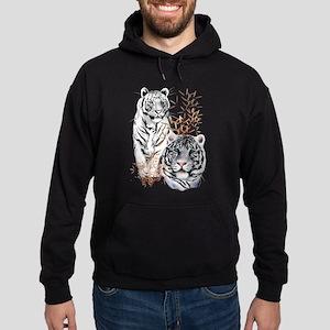 White Tigers Shirts Hoodie (dark)
