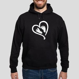 Baby Heart (Maternity) Hoodie