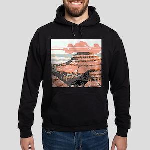 Vintage poster - Grand Canyon Hoodie (dark)