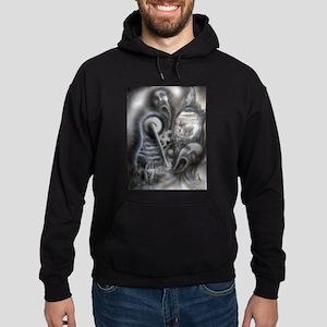 Il Morte A Macchina Hoodie (dark)