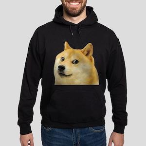 Wow Such Doge! Hoodie (dark)