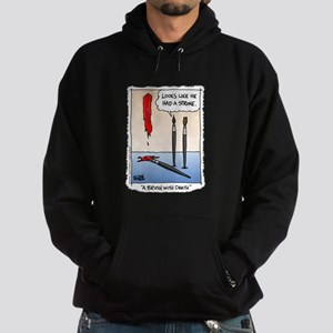 A Brush with Death Hoodie