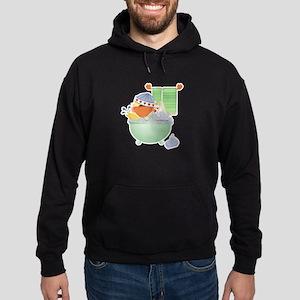 Cute Bathtime Ducky Hoodie (dark)