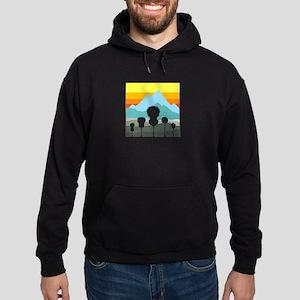 Mountain Music Hoodie (dark)