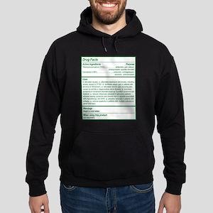 THC Drug Facts Hoodie (dark)